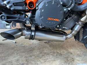 KTM RC8 RC8R Exhaust system Slip-on by Jester 68