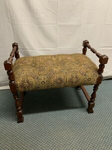 Magnificent Details About Antique Victorian Walnut Wood Vanity Piano Stool Seat Bench Andrewgaddart Wooden Chair Designs For Living Room Andrewgaddartcom