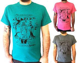 Stranger-Vitruvian-Things-t-shirt-Da-Vinci-mix-up-tee-Horror-gift-1980s-Retro-TV