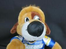 "AARONS LUCKY PUPPY DOG NASCAR RACING MASCOT 10"" DOLL PLUSH STUFFED ANIMAL"