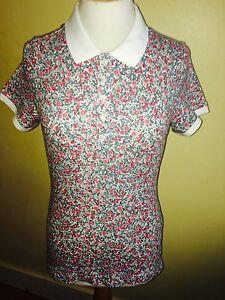Shirt Polo Floral Sz Freeukp 10 Joules 95 Dunsden amp;p 8 Rp£39 14 wH75qEq