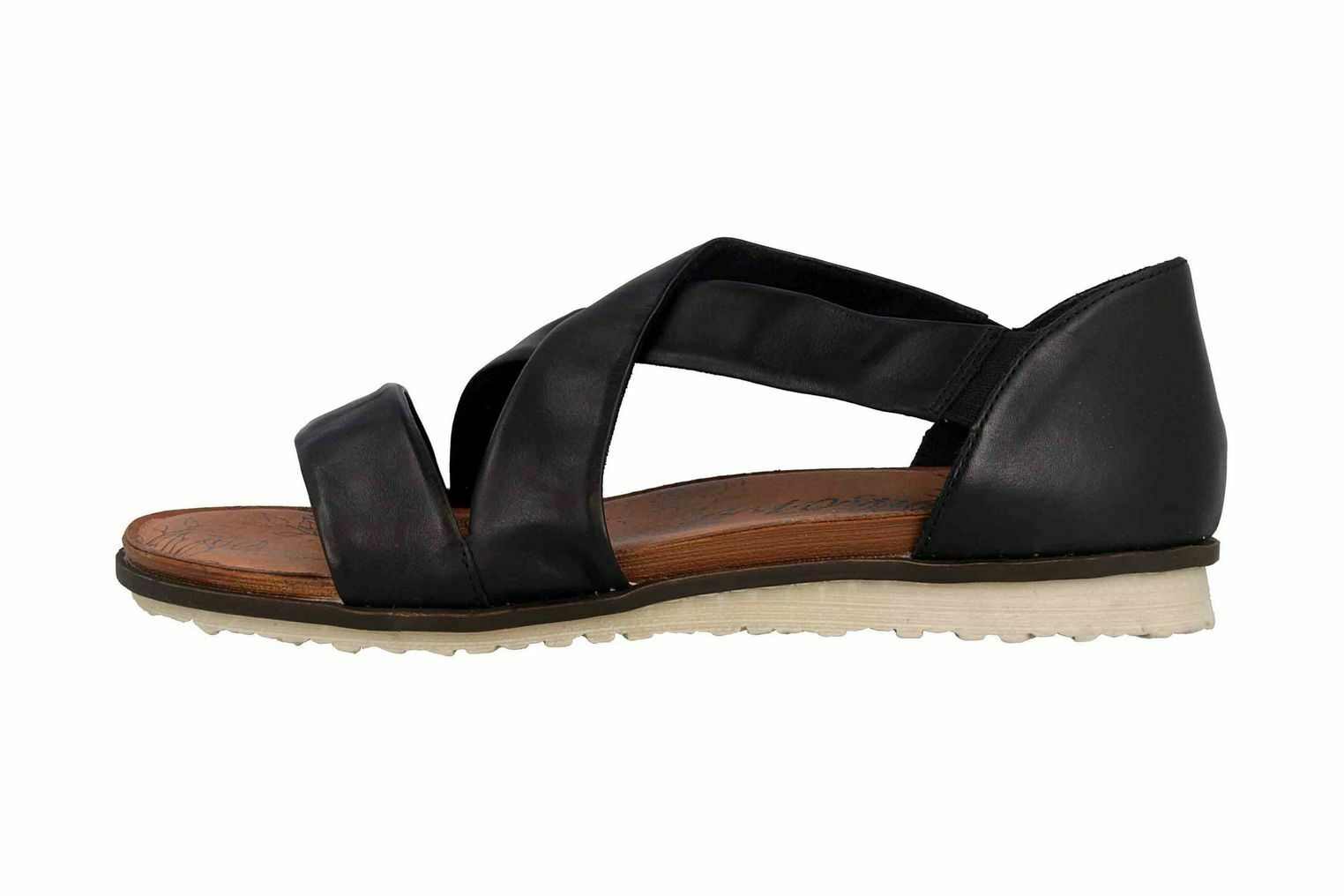 Remonte Sandalen in Übergrößen Schwarz R2755-01 große Damenschuhe