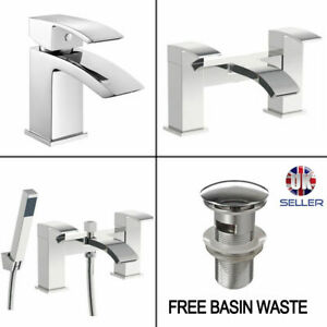 Aldo Rigid Basin Mixer Tap /& WasteBath Filler //Bath Filler Shower Bathtub Tap