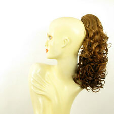Hairpiece ponytail curly dark blond copper 15.75 ref 3/g27 peruk