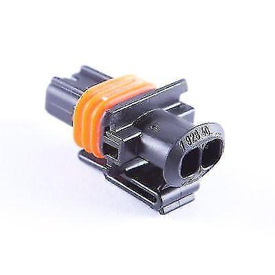 1 x Diesel Injecteur Connecteur Plug 2 Pin-Bosch Diesel Injecteurs non caréné