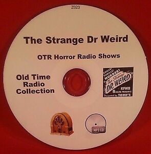 The-Strange-Dr-Weird-Horror-29-Old-Time-Radio-Shows-Audio-Book-OTR-MP3-CD