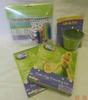 2 Dudleys Disney Tinkerbell Easter Egg Decorating Cups Dipper Sticker Kit