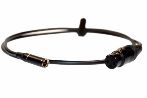 Custom Made USA 3-Pin XLR Female to 3-Pin Mini XLR Male Balanced Van Damme Cable