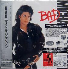 Michael Jackson CD Bad - Cardboard Gatefold Sleeve - Japan (M/M - Scellé /