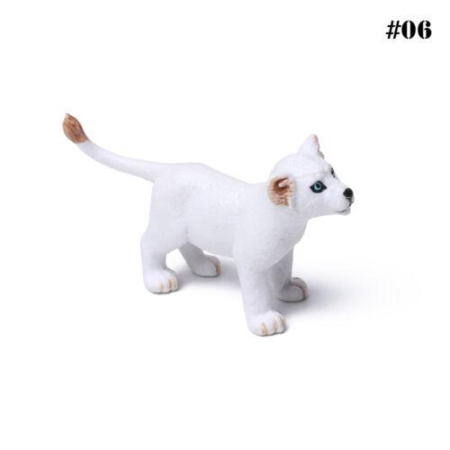 Kids Gift Plastic Fox Hare Rabbit Animal Models Toys Small Figurine  Miniature