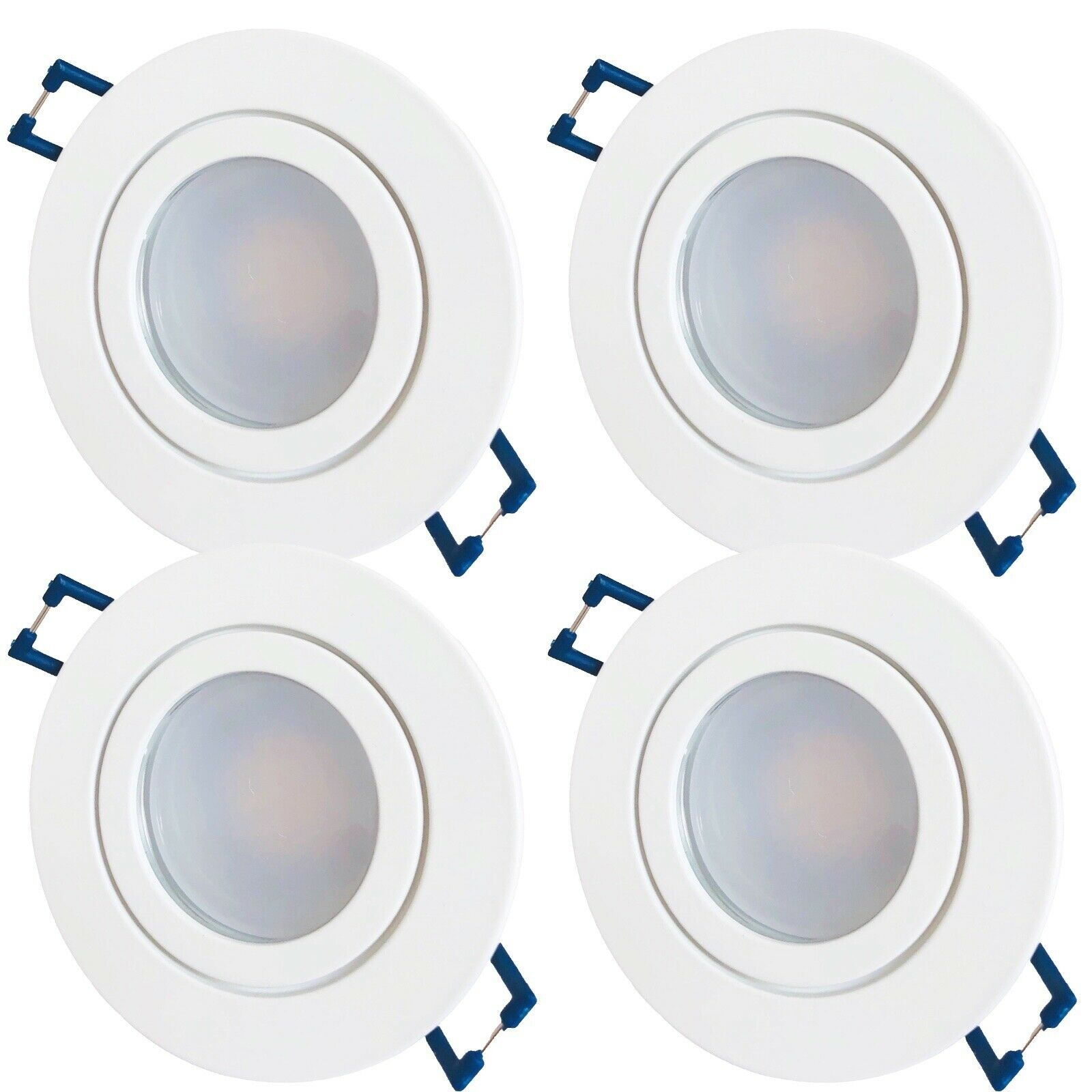9 Watt   LED Bad Einbauleuchten Marina 230Volt   IP44   900 Lumen   Farbe Weiss