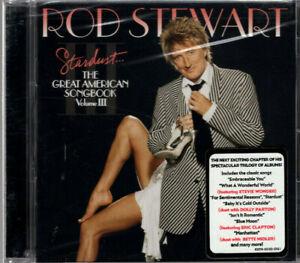 ROD STEWART Stardust - The Great American Songbook Volume III ~ 2004 US CD
