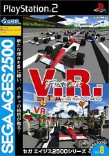 Used PS2 Sega AGES 2500 Series Vol. 8 V.R. Virtua Racing - Flat Out Japan Import