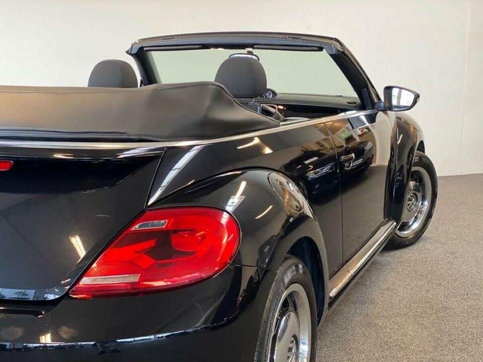VW The Beetle 1,2 TSi 105 Design Cabriolet Benzin modelår