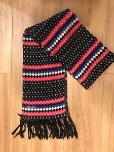 preiswert kaufen 2019 original abholen Details zu Superdry Schal Damen Schwarz Blau Pink