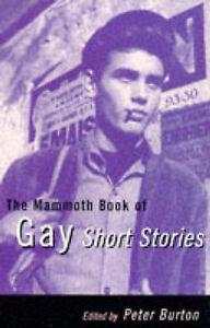The-Mammoth-Book-of-Gay-Short-Stories-Mammoth-Books-Burton-Peter-Very-Good