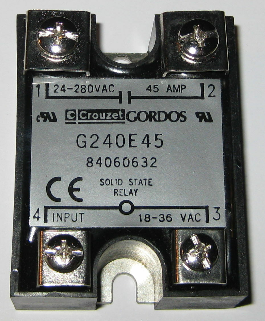G240e45 Crouzet Gordos Solid State Relay 24 280v Ac 45a 18 36 Vac Norton Secured Powered By Verisign