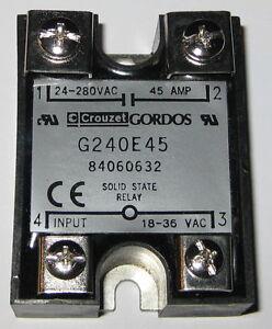 Crouzet-Gordos-Solid-State-Relay-280V-AC-45A-G240E45-18-36-VAC-Control
