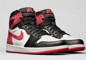 Nike-Air-Jordan-1-High-OG-Track-Red-US-10-5-EU-44-5-Neu-Bred-Off-White