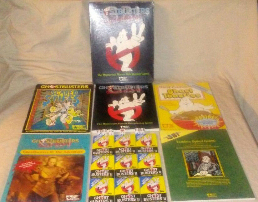 ULTIMATE Ghostbusters International International International GBI RPG Mega Bundle Lot by West End Games bd1b73