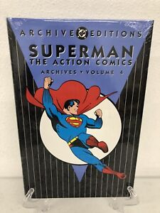 Superman-The-Action-Comics-Archives-Vol-4-DC-Comics-Hard-Cover-Brand-New-Sealed