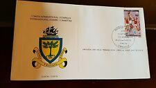 International Olympic Committee First Day Issue stamp Briefmarke Gabun 1984