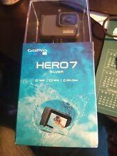 New & Sealed - GoPro HERO7 HD CHDHC-601 Waterproof Action Camera Silver FreeShip