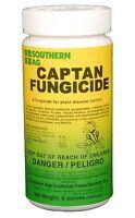 Captan 50 Wettable Powder Fungicide 8 Oz Vegetable Garden Fruit Plants Lawns +++