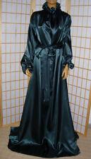Nylon Kleid NachtKleid  zofen Dienstmädchen kleid TannenGrün