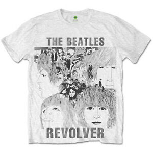 The-Beatles-Revolver-Sublimation-Official-Merchandise-T-Shirt-M-L-XL-Neu