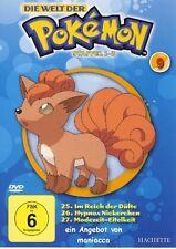 DIE WELT DER POKEMON - Nr. 9   1. Staffel / Folgen 25-27    DVD #ZZ   Pokémon