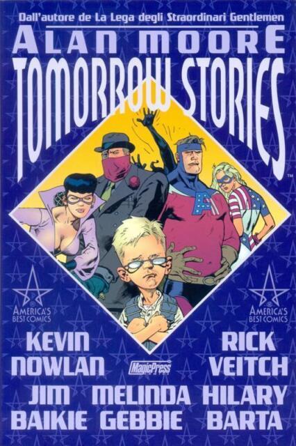 Tomorrow Stories 1/2 COMPLETA di Alan Moore NUOVO sconto 50% ed.Magic PRess