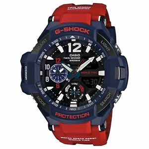 Casio-G-Shock-GA-1100-2ADR-Gravitymaster-Stylish-Watch-Blue-One-Size