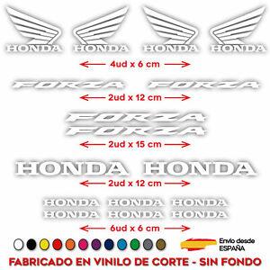 PEGATINA-VINILO-ADHESIVO-HONDA-FORZA-MOTO-VINIL-STICKER-DECAL-KIT-DE-16-UDS