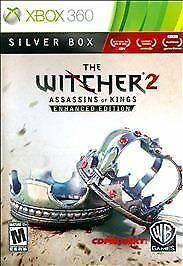 The Witcher 2: Assassins of Kings -- Enhanced Edition Silver Box Xbox 360 No Map