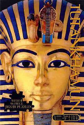 1 of 1 - Tutankhamun Deluxe Jigsaw (Deluxe Jigsaw Book)-ExLibrary