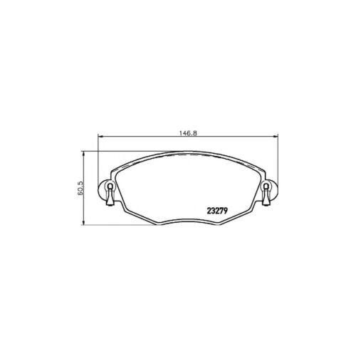 New Ford Mondeo MK3 ST220 Genuine Mintex Front Brake Pads Set