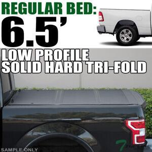 Topline For 2019 Dodge Ram 1500 6 4 Bed Low Profile Hard Tri Fold Tonneau Cover Ebay
