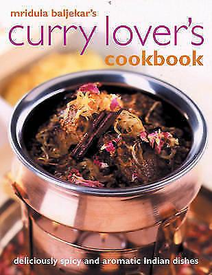 """AS NEW"" Curry Lover's Cookbook, Mridula Baljekar, Book"