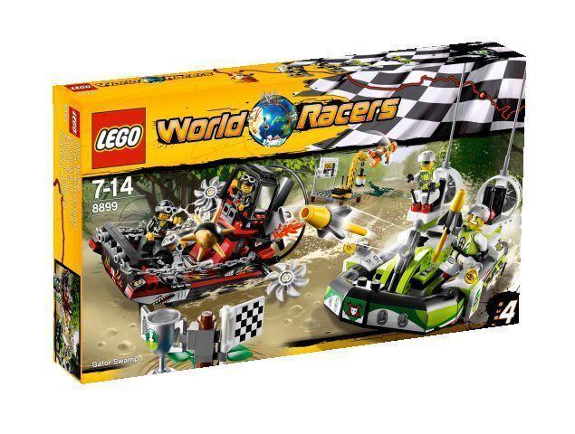 LEGO World Racers Gefahr im Krokodil-Sumpf (8899) NEU Ungeöffnet Versiegelt
