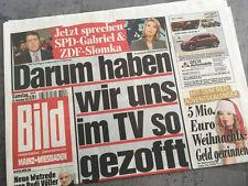 Bildzeitung vom 30.11.2013 * Geschenk zur Geburt * Völler * Garbriel