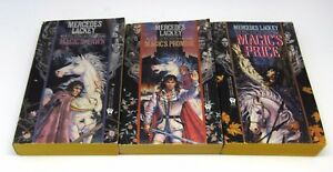 Last-Herald-Mage-Trilogy-by-Mercedes-Lackey-Magic-039-s-Pawn-Promise-Price
