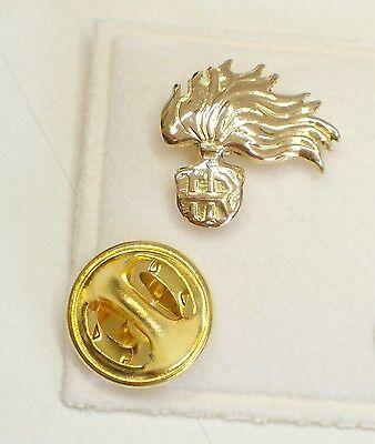 Spilla da giacca Quadrifoglio portafortuna in Oro giallo 750-18 Kt pins