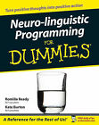 Neuro-Linguistic Programming For Dummies by Kate Burton, Romilla Ready (Paperback, 2004)