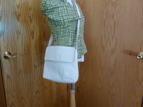 Saks Avenue Leder Qualitt Body In Made Handtasche Creme Italy Cross Fifth qtr54t