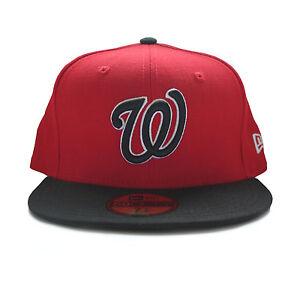 reputable site 651cb 85af9 Image is loading NEW-Washington-Nationals-New-Era-MLB-Hat-Men-