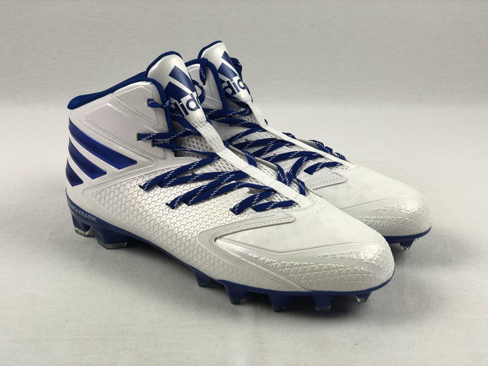 10f40218382 NEW adidas Freak Carbon Mid - White bluee (Men s Sizes) Cleats Multiple  nvpgif2019-Men