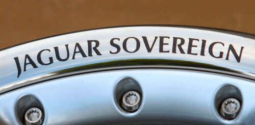 CERCHIONE Decalcomania-Jaguar Sovereign