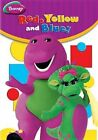 Barney Red Yellow and Blue 0884487103887 DVD Region 1 P H