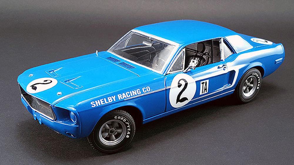 ACME 1968 Shelby Mustang   2 Dan Gurney 1 18  expédition rapide dans le monde entier